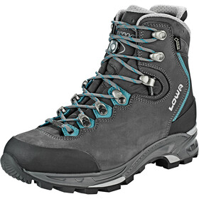 Lowa Mauria GTX Shoes Women, anthracite/petrol